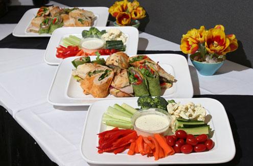 Il biologico nel catering e nel banqueting